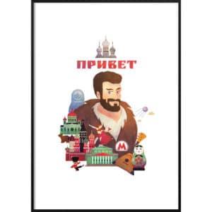 Plakat Rosja – cześć!
