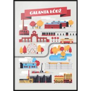 Plakat Galanta Łódź