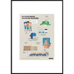 Plakat Ilustrowany słownik Śledzia