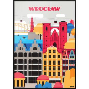Plakat NIEMAPA Wrocław