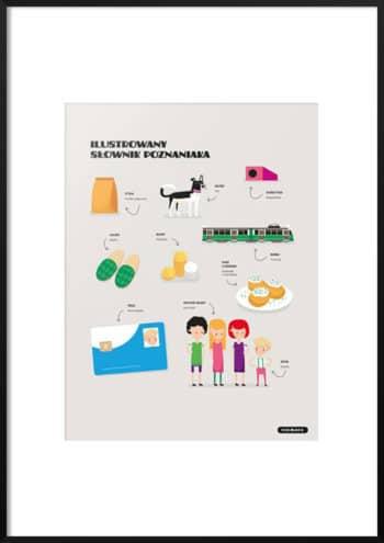 ilustrowany słownik poznaniaka