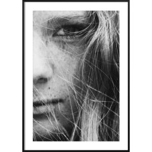 Plakat Dziewczyna z piegami