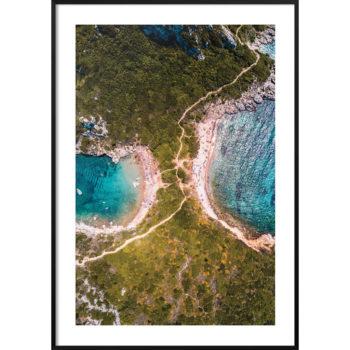 plakat krajobraz grecja