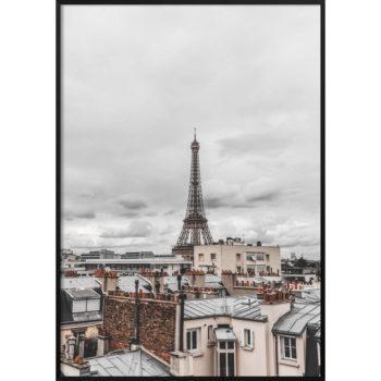 plakat paryż vintage