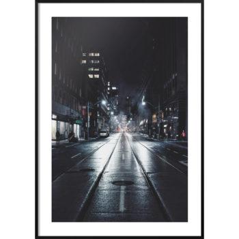zdjęcie mokra ulica