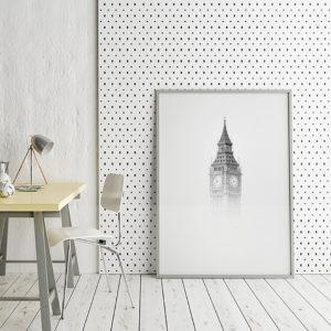 Placate Big Ben w biurze