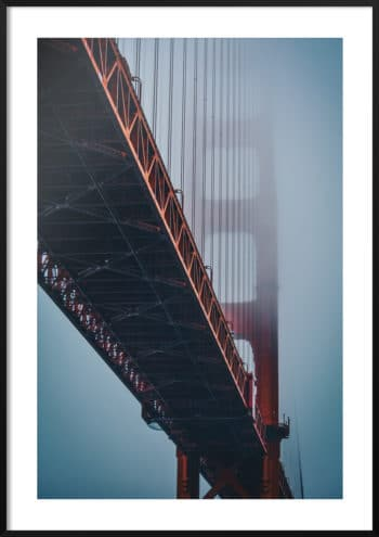 plakat most golden gate