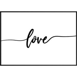 Plakat Love