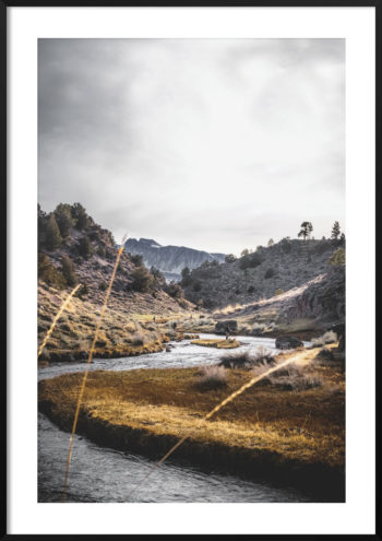 Plakat Hot Creek Kalifornia