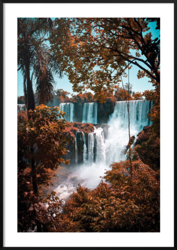 Plakat Wodospad Iguazú