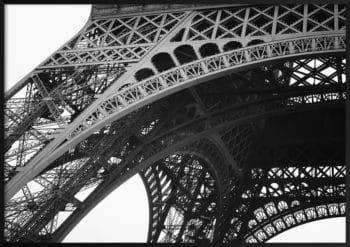 wieża eiffela z bliska