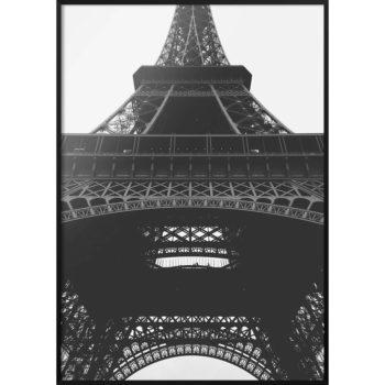 plakat z wieża eiffela