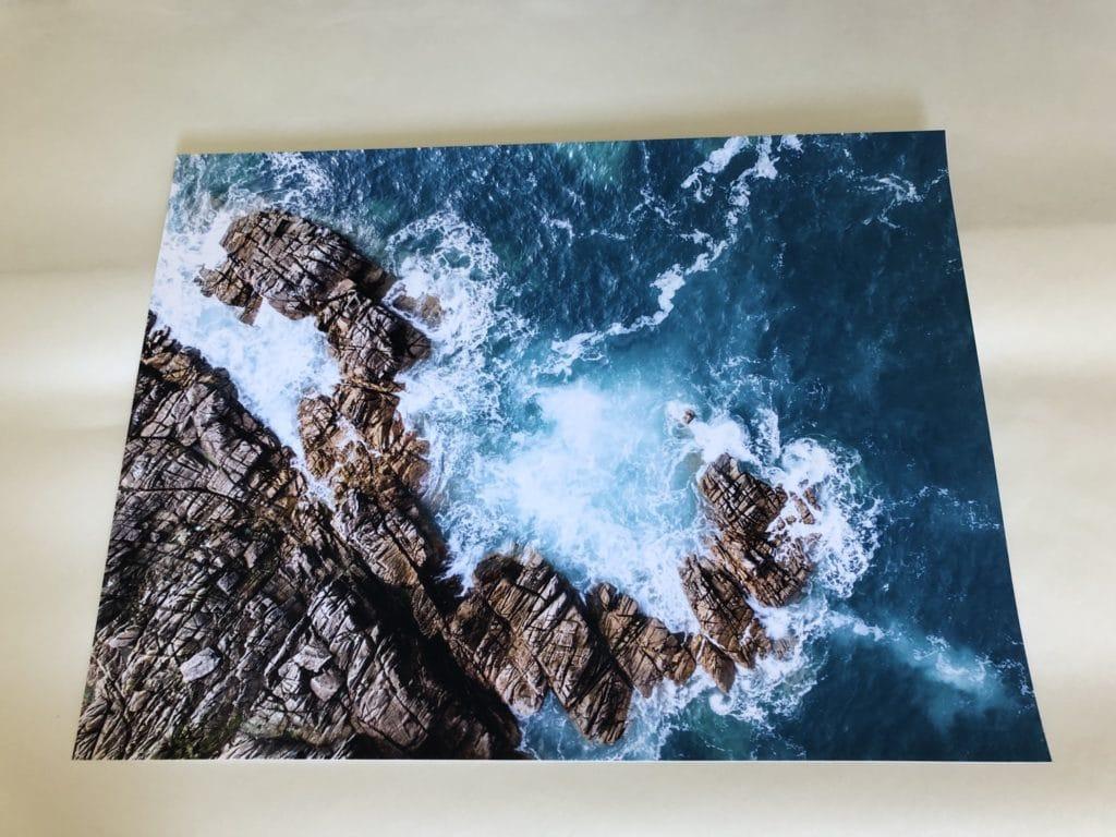 Wydruk kolorowy na drukarce pigmentowej