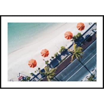 zdjęcia plaży z góry