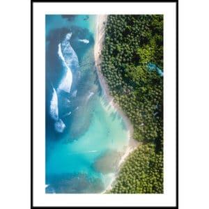 Plakat Rajska plaża