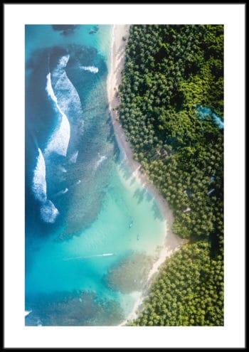plaże z białym piaskiem