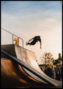 Plakat Skateboarding