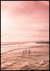 Plakat Surfing