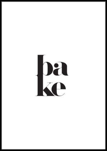 plakty typograficzne do kuchni