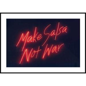 Plakat Make salsa