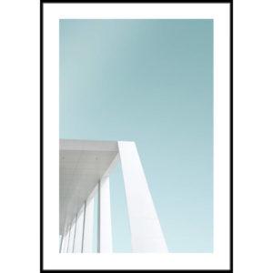 Plakat Prosta architektura