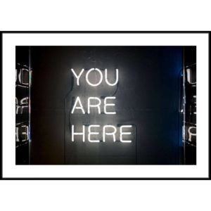 Plakat You are here