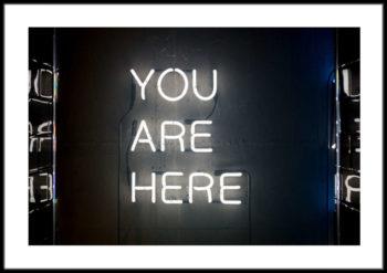 napis neon do domu