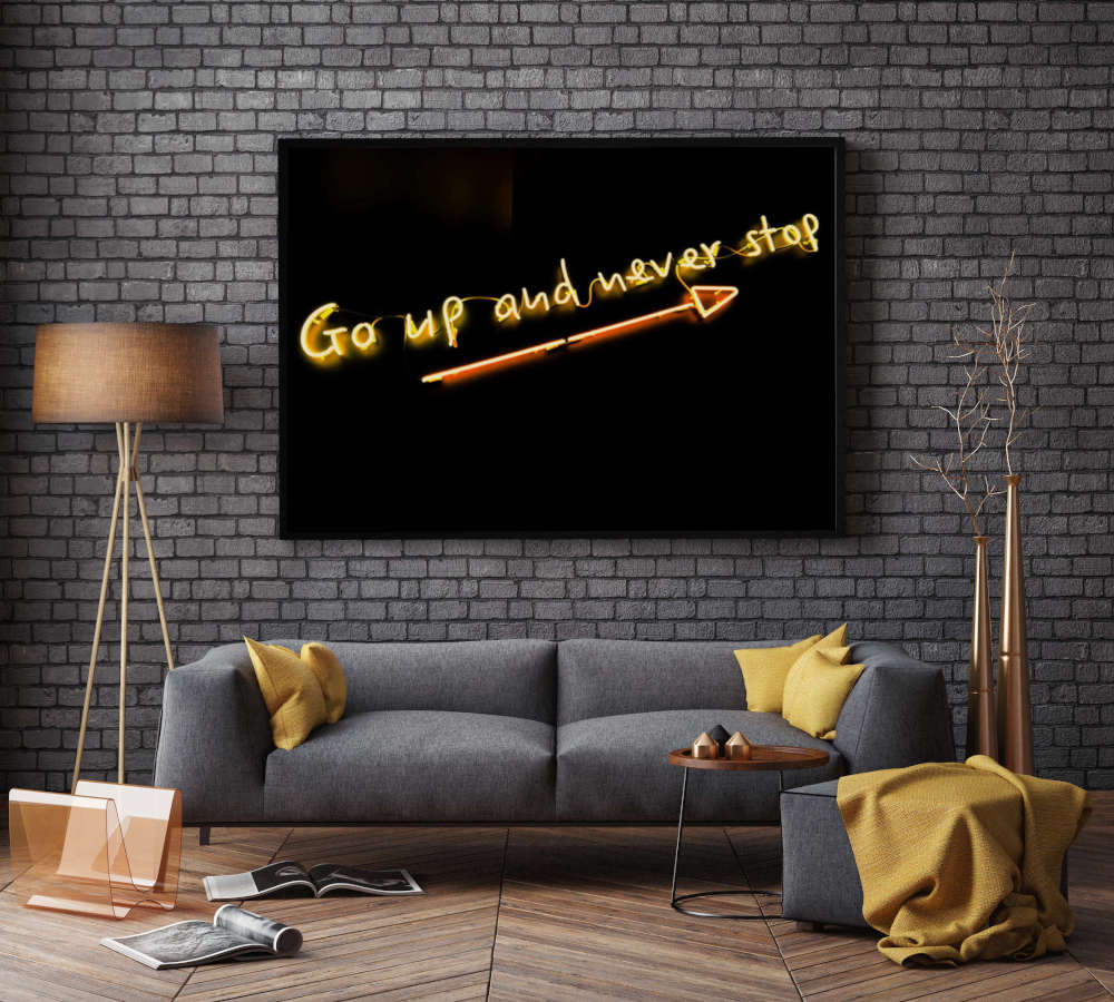 żółty neon