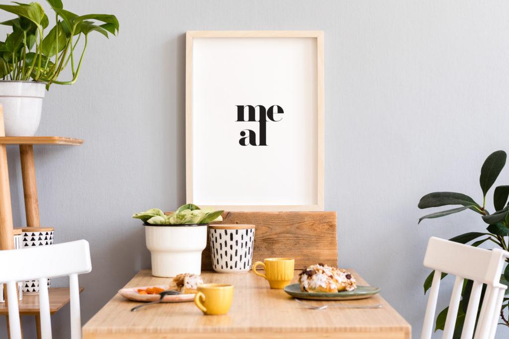 mały plakat do kuchni