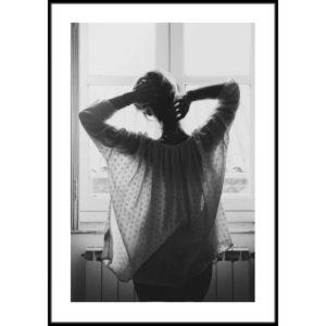 Plakat Poranek w oknie