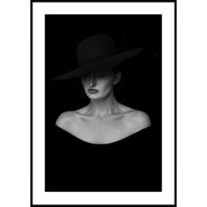 Plakat W cieniu kapelusza