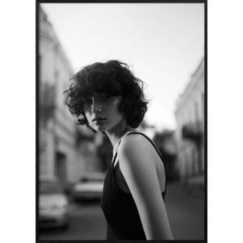 uliczny portret kobiety