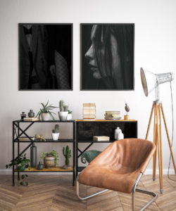 Plakat Zmysłowość, Profil