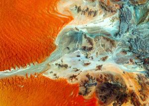 Plakat Czerwone piaski Namibii
