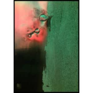Plakat Zielony metal
