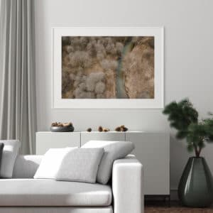 Plakat Harmonia natury na ścianie