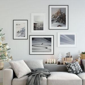 Zimowa galeria na ścianę