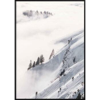 mgła w górach